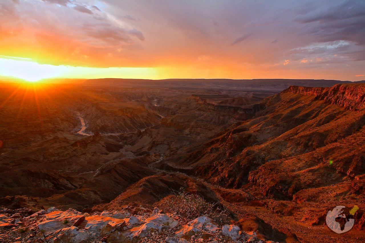 O que fazer na Namíbia : Fish River Canyon